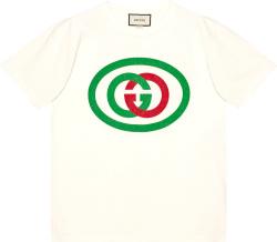 White Interlocking-G T-Shirt