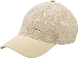 White 'Chivali' Mesh Hat