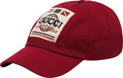 Gucci Worldwide Patch Red Hat