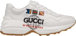 Gucci Worldwide Print Sneakers