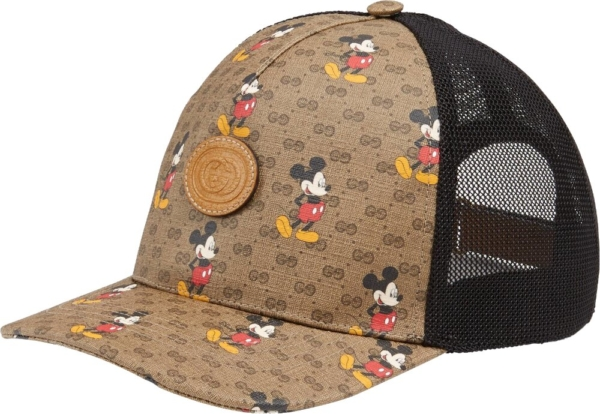 Gucci X Disney Beige Trucker Hat