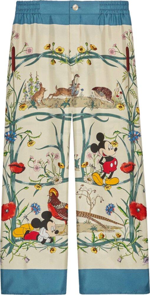 Gucci x Disney Floral Print Pants