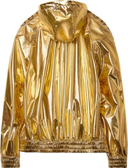 Gucci X Dsm Metallic Gold Jacket
