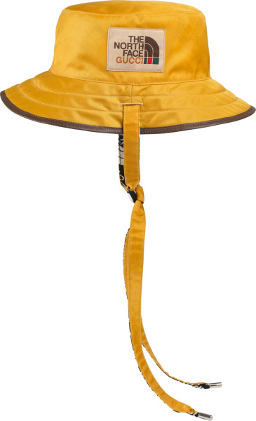 Gucci X The North Face Yellow Bucket Hat