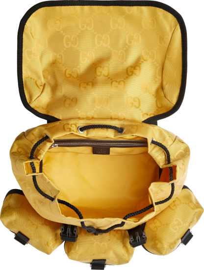 Gucci Yellow Off The Grid Backpack