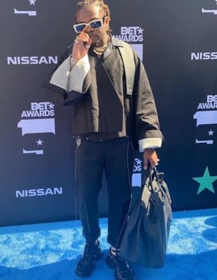 Gunna At The Bet Awards In Rick Owens Prada Hermes And Dior