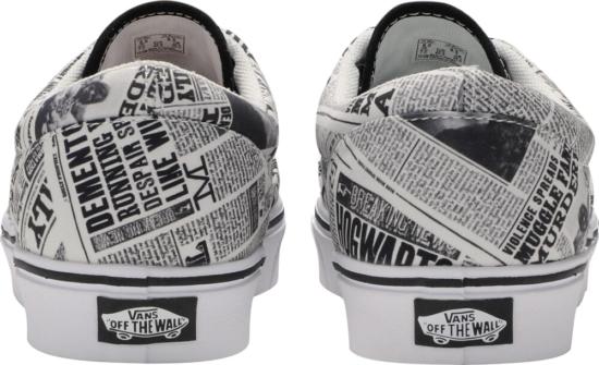 Harry Potter X Vans Newspaper Sneakers