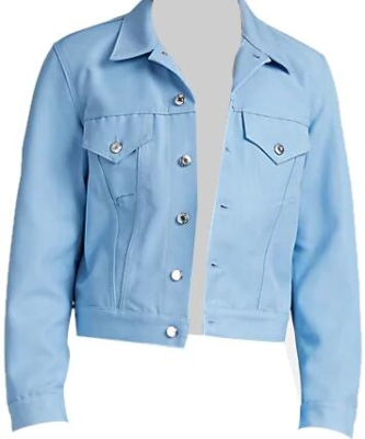 Helmet Lang Light Blue Denim Jacket