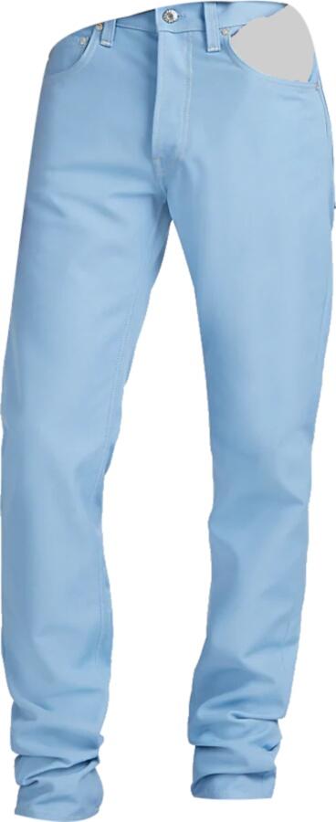 Helmut Lang Light Blue Denim Pants