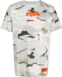 Heorn Preston Grey Camo Print T Shirt