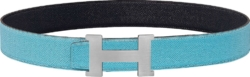 Hermes Light Blue Constance Belt