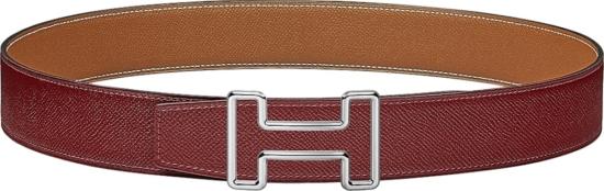 Hermes Red 'tonight' Belt