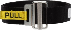 Heron Preston Black Logo Belt