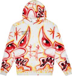Heron Preston x Kenny Scharf Airbrush 'Meanie' Hoodie