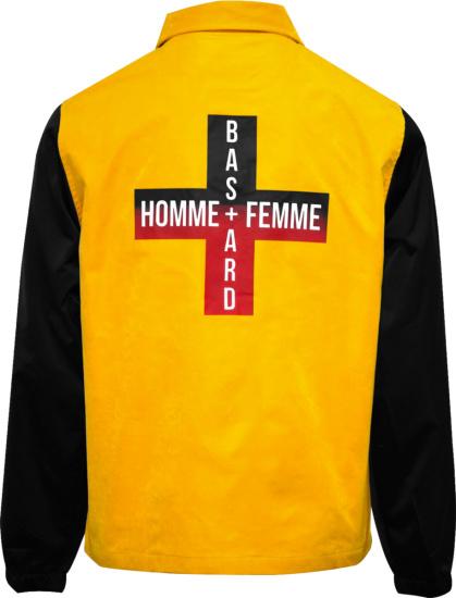 Homme Femme Yellow Bastard Jacket