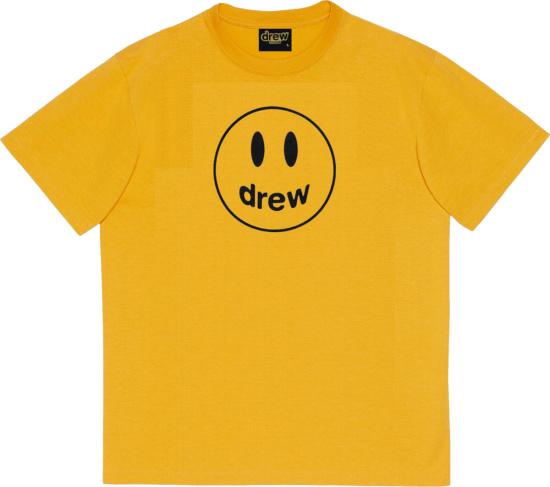 House Of Drew Yellow Mascot T Shirt