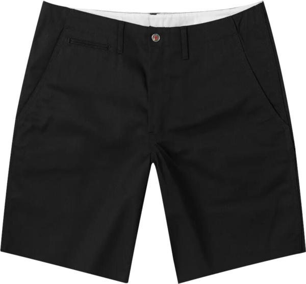 Human Made Black Chino Shorts