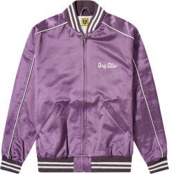 Human Made Dry Alls Purple Satin Bomber