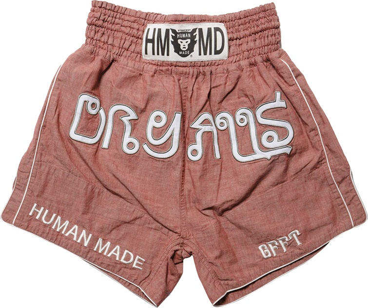 Red Muay Thai Shorts