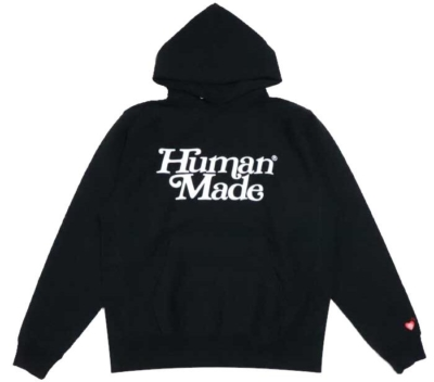 Human Made X Girls Dont Cry Black Hoodie