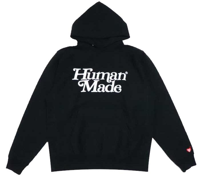 Human Made X Girls Dont Cry Black Hoodie