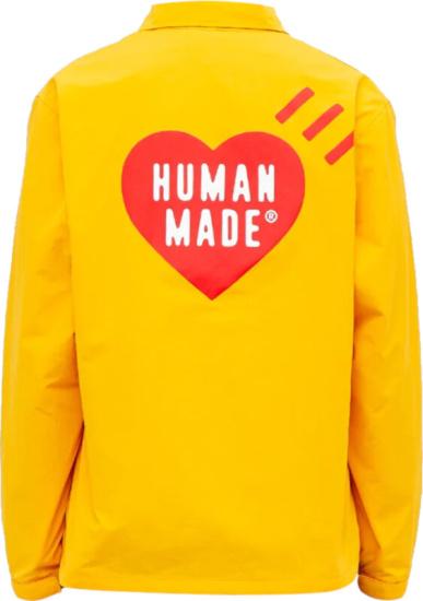 Human Made Yellow Coach Jacket