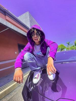 Ianndior Wearing A Bape Hoodie Supreme T Shirt And High Top Sneakers
