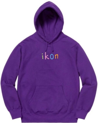 Ikonla Purple Ikon Hoodie