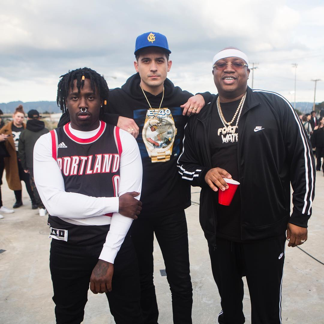 newest 6e124 ca67f G-Eazy ft. The North Face x Supreme, Nike, Puma, & Merch.