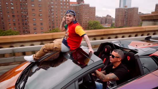 Incorporated Style Cover Image For 6ix9ine Punani Music Video