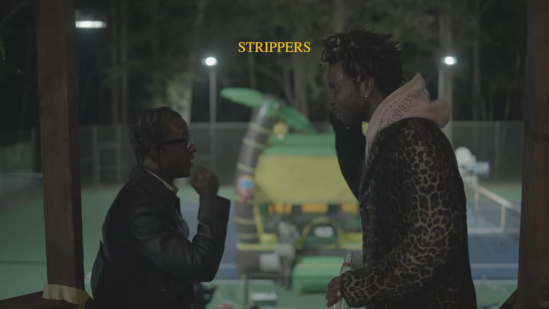 Incorporated Style Cover Image For Saint Jhn Lil Uzi Vert High School Reunion Prom Music Video