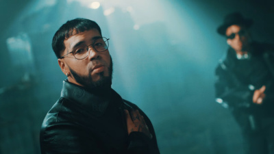 Incorporated Style Cover Image For Anuel Aa Ozuna Municiones Music Video