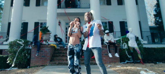 Incorporated Style Cover Image For Coi Leray Lil Durk No More Parties Music Video