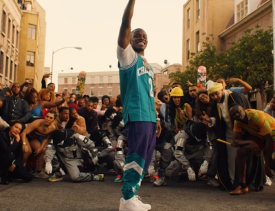 Incorporated Style Cover Image For Dababy Bop Music Video