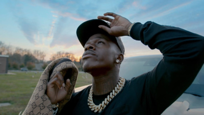 Incorporated Style Cover Image For Dababy Gucci Peacoat Music Video