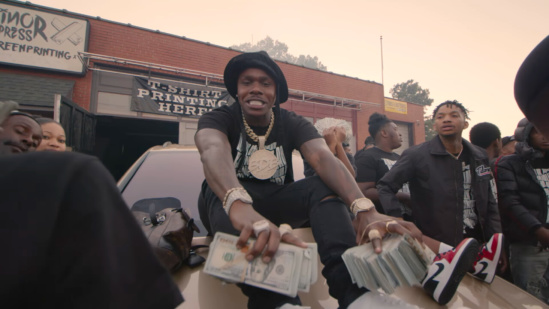 Incorporated Style Cover Image For Dababy Practice Music Video