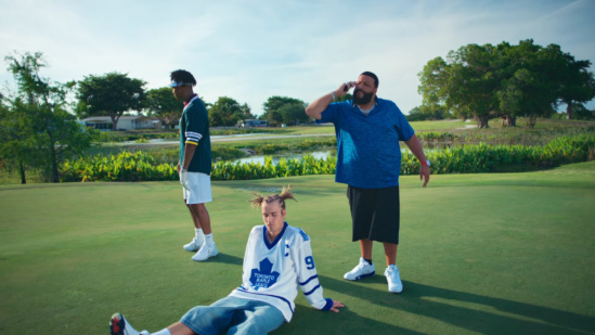 Incorporated Style Cover Image For Dj Khaled 21 Savage And Justin Bieber Let It Go Music Video