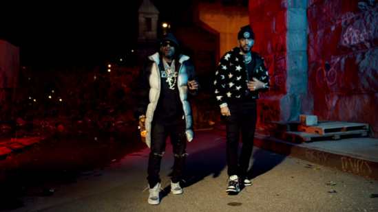 Incorporated Style Cover Image For French Montana Jim Jones Too Late Musci Video
