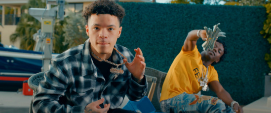 Incorporated Style Cover Image For Jackboy And Lil Mosey Enjoy Every Dollar Music Video