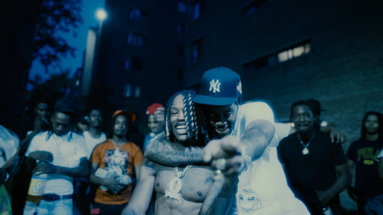 Incorporated Style Cover Image For King Von Fivio Foreign Music Video