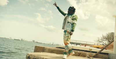 Incorporated Style Cover Image For Kodak Black Easter In Miami Music Video