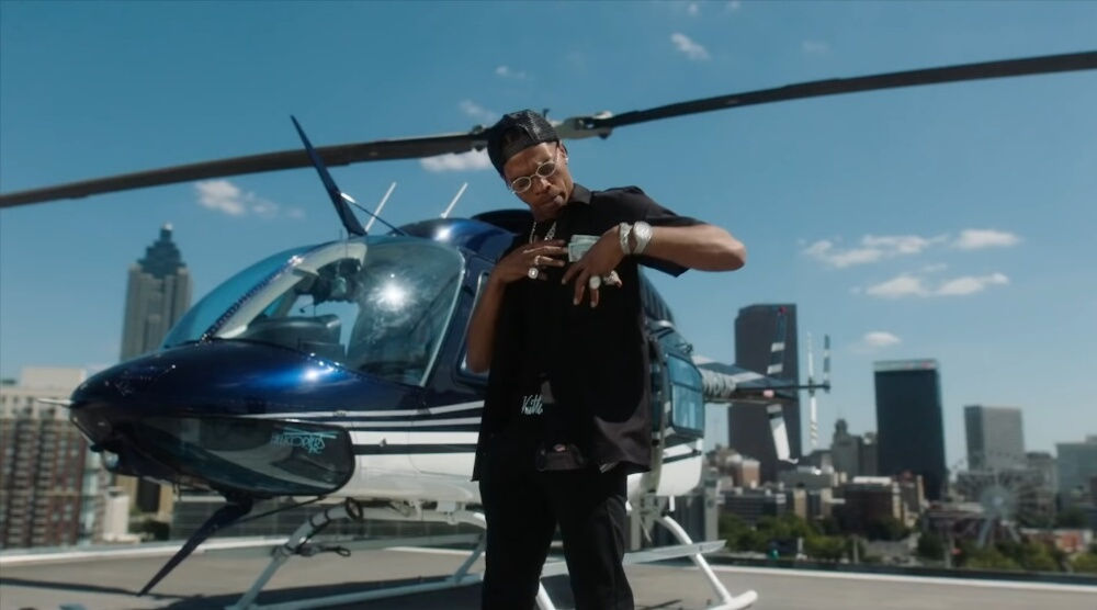Incorporated Style Cover Image For Lil Baby Back On Music Video