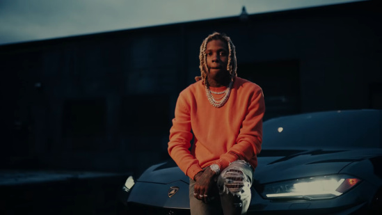 Incorporated Style Cover Image For Lil Durk Doin Too Much Music Video