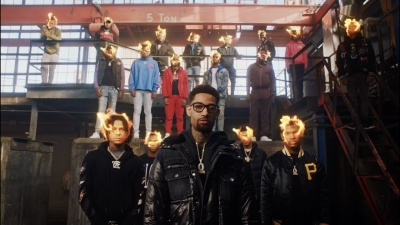 Incorporated Style Cover Image For Pnb Rock King Von Rose Gold Music Video