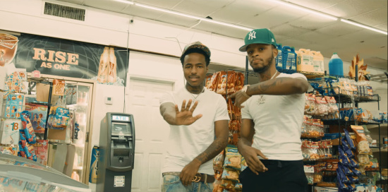 Incorporated Style Cover Image For Popp Hunna And Toosii Beneficial Music Video