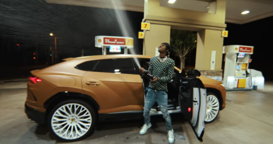 Incorporated Style Cover Image For Rich The Kid Prada Music Video