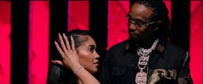 Incorporated Style Cover Image For Saweetie And Quavo Emotional Music Video Featuring A Dolce And Gabbana Split Jacket And Alyx Vest