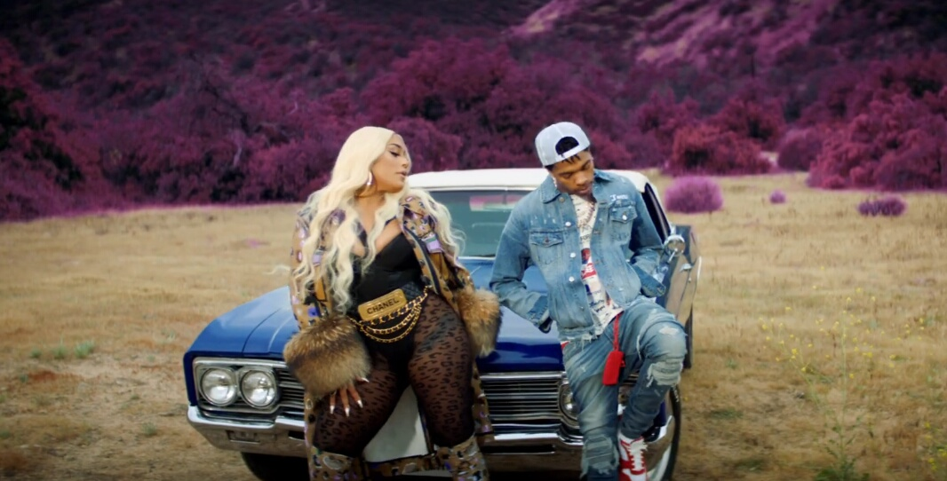 Incorporated Style Cover Image For Stefflon Don And Lil Baby Put Your Phone Down Music Video