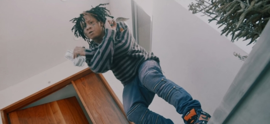 Incorporated Style Cover Image For Trippie Redd Moon Walker Music Video