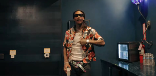Incorporated Style Cover Image For Wiz Khalifa 24hrs Drams Music Video